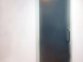 sliding door to closet